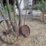 antique tractor wheels